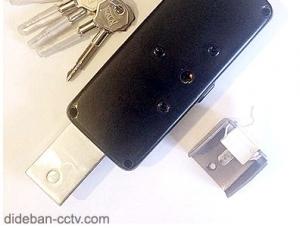 قفل نیمه اتوماتیک کرکره برقی
